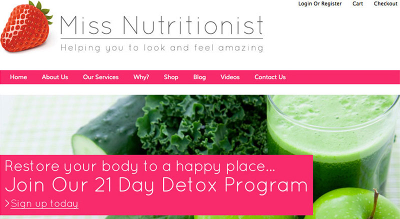 Miss Nutritionist